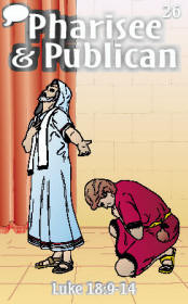Pharisee Publican Trading Card Front
