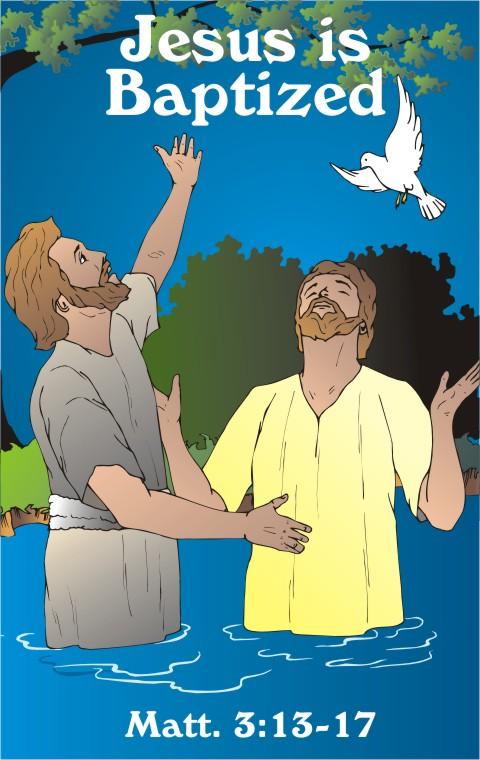 John The Baptist And Jesus For Kids Lesson: Jesus is Bapti...