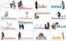 photo about Printable Books of the Bible Cards referred to as Guides of the Bible Bingo Interactive Sport
